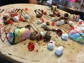 Palacinka s marshmallow
