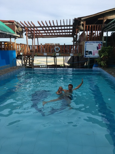 Bazén v Ande