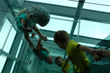 Zrkadlový kút Taipei 101