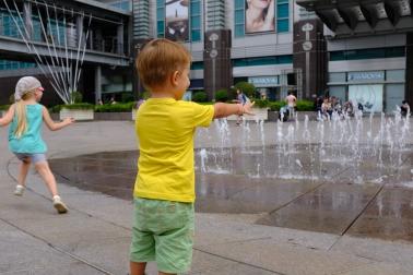 Naháňame fontánu pred 101