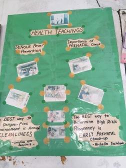 Náučná tabuľa v nemocnici