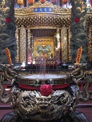 Yonghe Baofu temple