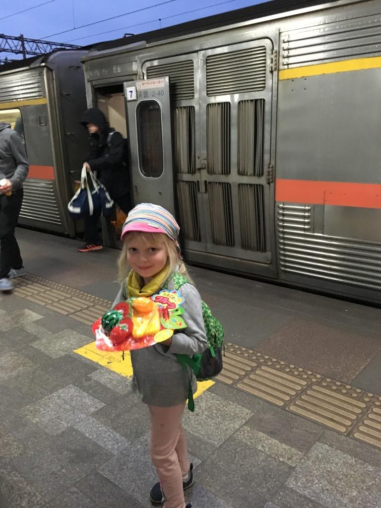 Darček z vlaku
