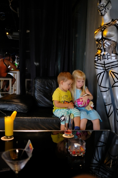 Heli lounge - downstairs