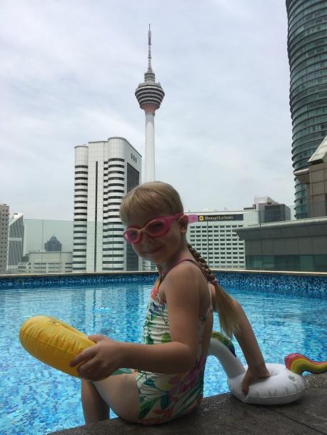 Strešný bazén - Fraser