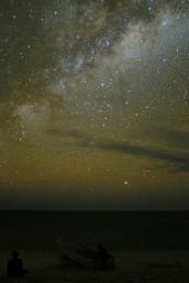 Mliečna dráha z Gold Coastu