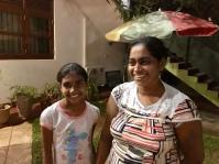 Naša teta domáca s dcérkou