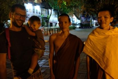 Mnísy - Wat Chedi Luang