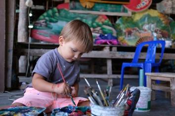 Bo Sang - maľujeme