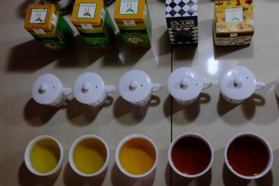 Ochutnávka čajov