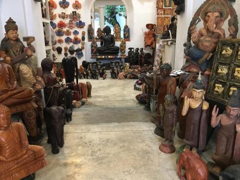 Galle - obchodík