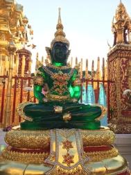 Smaragrový budha - Doi Suthep