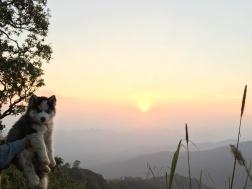 Západ slnka nad Doi Suthep
