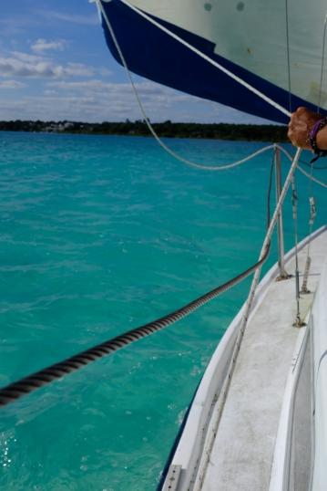 Bacalar z plachetnice